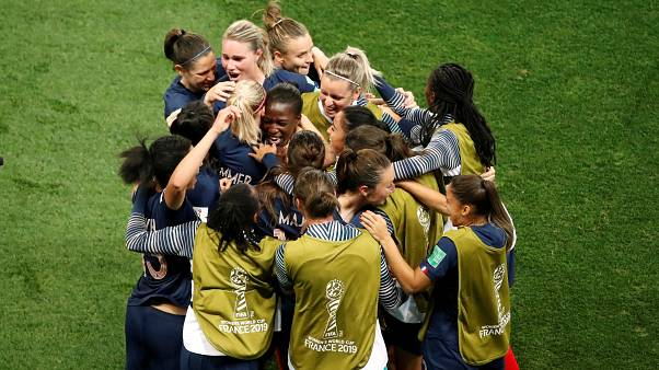 2019 Women's World Cup: France beat Norway 2-1