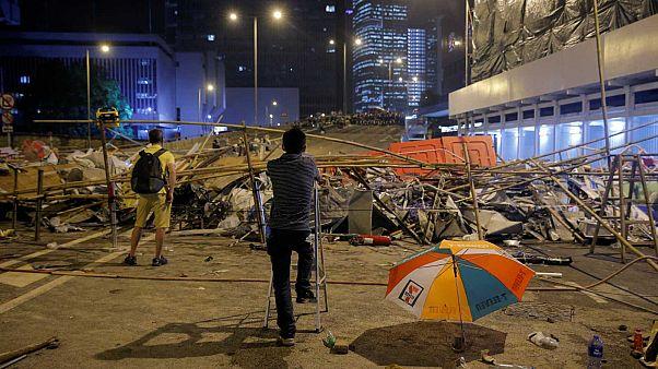 Hong Kong plongée dans les violences et l'impasse