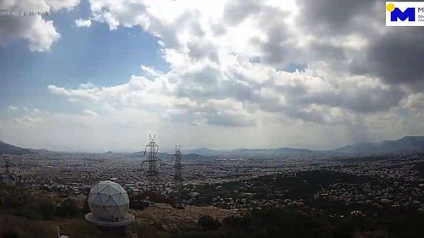 Βίντεο του Meteo από την καλοκαιρινή καταιγίδα της Τρίτης στην Αθήνα