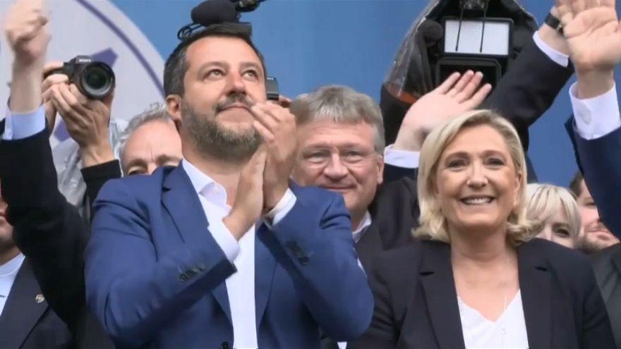 Marine Le Pen to unveil new far-right alliance in European Parliament