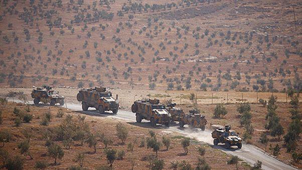Suriye'nin İdlib kentinde gözlem yapan Türk askeri