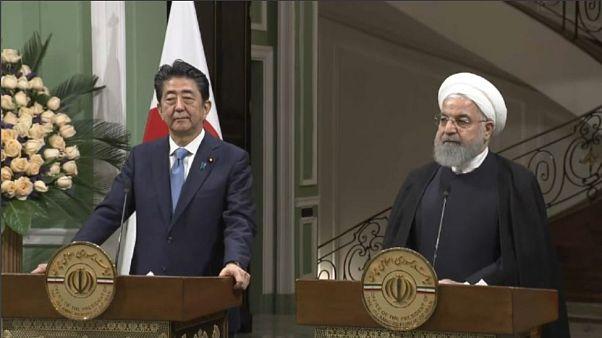 """Shinzo Abe a Rouhani: """"Giappone farà di tutto per alleviare le tensioni tra Iran e USA"""""""