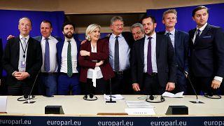 Le groupe Identité et démocratie au Parlement européen