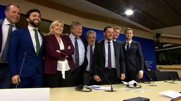 Mit AfD, Le Pen und Salvini: Neue Rechtsfraktion im EU-Parlament