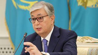 Tokaev defiende la represión contra los opositores a su toma de posesión