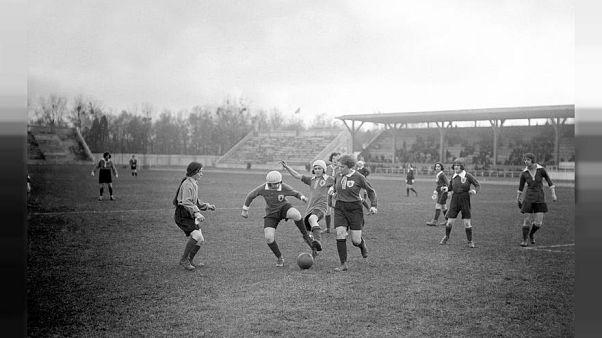 Le pioniere britanniche del calcio femminile, contro la stampa dell'epoca