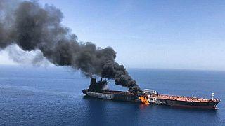 أبرز ردود الفعل الدولية على الهجوم على ناقلتي النفط في مياه الخليج