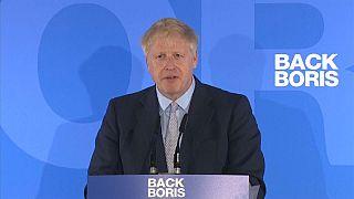 Boris Johnson gana la primera ronda por el liderazgo de Reino Unido