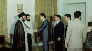 ۳۶ سال پیش آبه پدر در تهران با خامنهای دیدار کرد