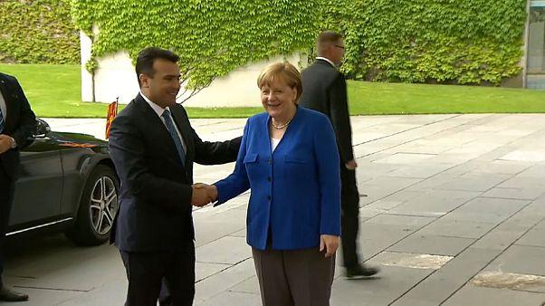 Merkel: Ja zu Nordmazedoniens EU-Zukunft