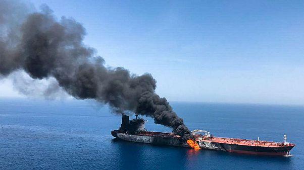 پمپئو: ایران مسئول حمله به دو نفتکش در دریای عمان است
