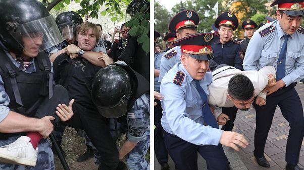Россия-Казахстан: неделя задержаний   #КУБ