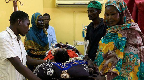 مصاب ضمن ضحايا فض اعتصام الخرطوم يرقد في مستشفى في أم درمان