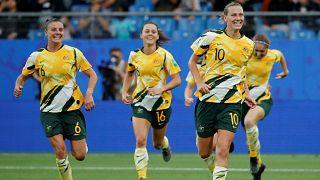 FIFA Kadınlar Dünya Kupası'nda 7. gün: Avustralya geriye düştüğü maçta Brezilya'yı yendi