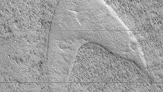 Βρέθηκε το σύμβολο του στόλου του «Σταρ Τρεκ» στην «Ελλάδα» του Άρη!
