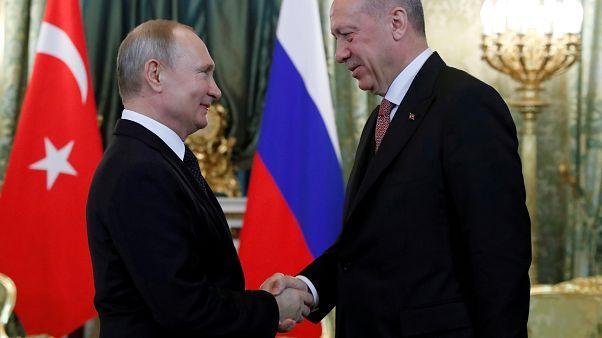 Συνάντηση Πούτιν - Ερντογάν με φόντο τους S-400