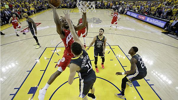 Toronto Raptors win first basketball championship in team's history
