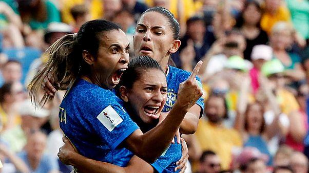 Brazil's Marta Viera da Silva becomes first player to score in 5 World Cups