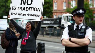 Décision en 2020 sur l'éventuelle extradition d'Assange vers les Etats-Unis