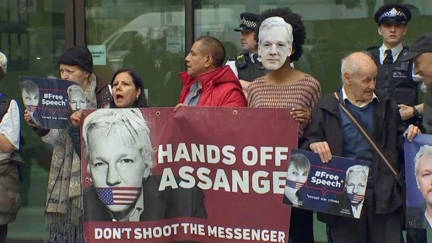 El juicio de extradición de Assange a EEUU será en febrero