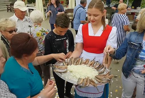 Herring things: Russian town goes all fishy to toast its founding