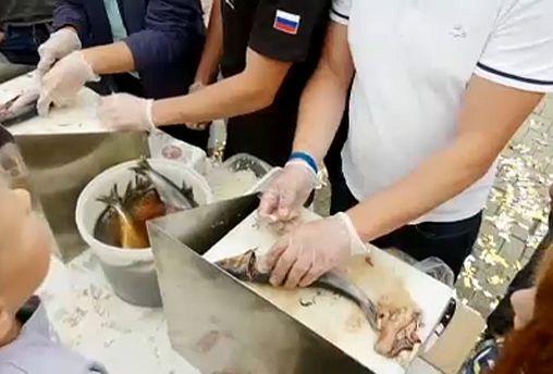 Heringfesztivál Oroszországban