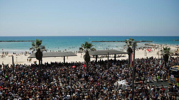 مسيرة المثليين الكبرى بمدينة تل أبيب