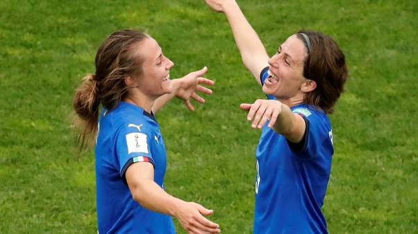 Италия и Англия вышли в плей-офф ЧМ по футболу среди женщин