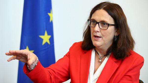 سيسيليا مالمستروم مفوضة الاتحاد الأوروبي لشؤون التجارة