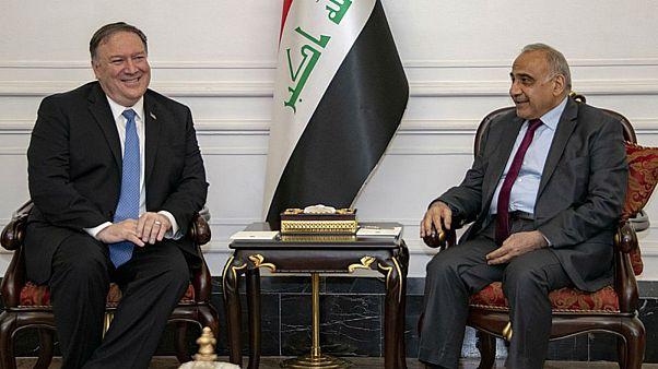 گفتگوی تلفنی مایک پمپئو با نخستوزیر عراق پس از حادثه نفتکشها در دریای عمان