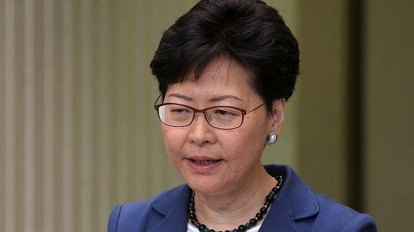 كاري لام الرئيس التنفيذية لهونغ كونغ