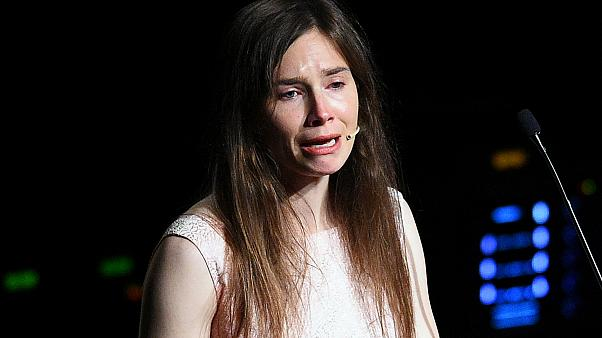 Amanda Knox in Modena, Italy June 14, 2019