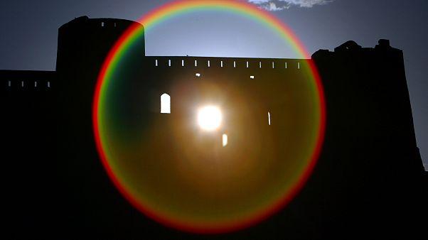 سور قلعة تاريخية في أفغانستان