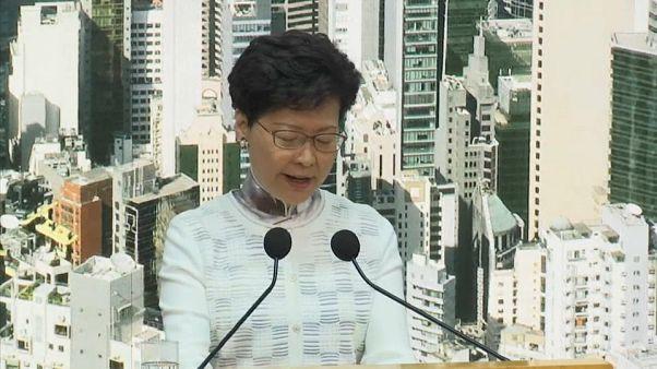 Hong Kong anuncia la suspensión de la propuesta de ley de extradición