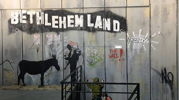 "New York'tan Filistin'e ""Banksy'nin Dünyası"" Paris'te"