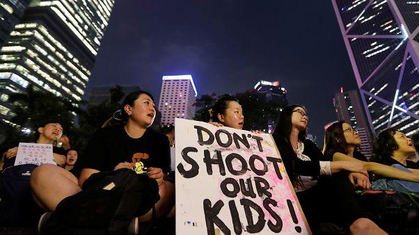 Гонконг: материнский протест