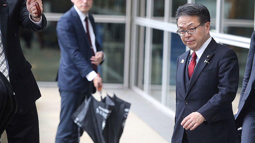 وزير الاقتصاد والتجارة والصناعة الياباني