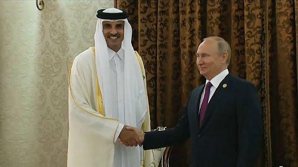 بوتين بعد لقائه أمير قطر: علاقات موسكو مع الدوحة في تطور مستمر