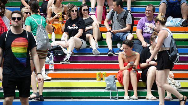 Sommer, Sonne, Regenbogen: 500.000 bei LGBT-Parade in Wien