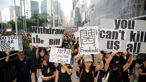Nueva marcha masiva en Hong Kong en contra de sus autoridades