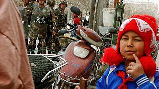 طفل من الويغور