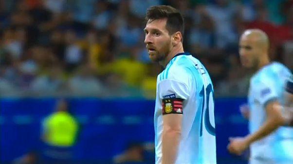 Copa América: Argentina derrotada pela Colômbia