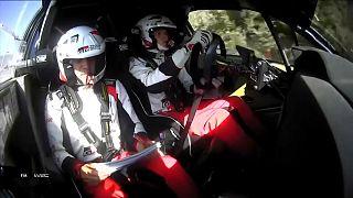 Rally Italia Sardegna: in testa c'è l'estone Tanak
