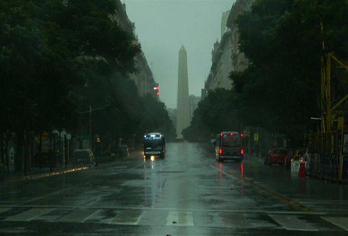 Restablecimiento paulatino del suministro eléctrico en Argentina y Uruguay