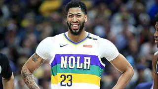 Anthony Davis Los Angeles Lakers yolunda