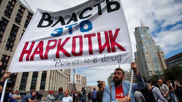 В Москве прошёл митинг в защиту журналистов