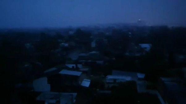 Sötétbe borult fél Dél-Amerika