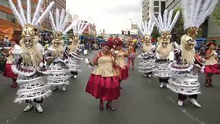 Bolíviai karnevál