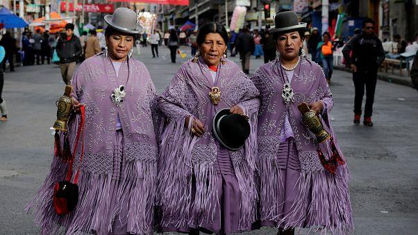 جشنواره «رقص بردگان سیاه» در بولیوی