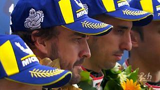 "Фернандо Алонсо выиграл гонку ""24 часа Ле-Мана"""